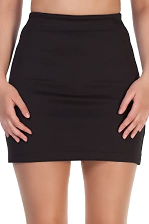 Marc Olivier Bodycon Mini Skirt - Great for Office, Casual or ...