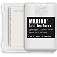 MARIDA Super Anti Fog Spray for Glasses| 100% Alcohol & Ammonia Free| Anti Fog for Eyeglasses, Sunglasses, Goggles…