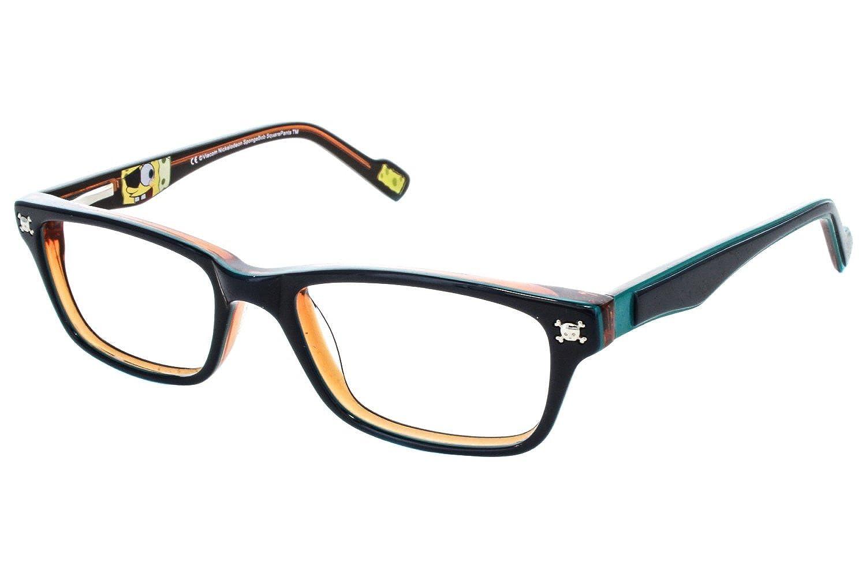 amazoncom nickelodeon spongebob squarepants arghhh childrens eyeglass frames black clothing - Yellow Eyeglass Frames