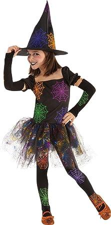 Rubies- Disfraz infantil bruja Telaraña, L (8-10 años) (Rubies ...