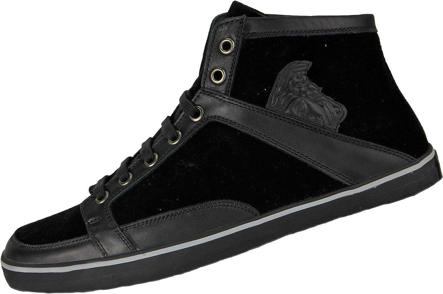 426fe246 Versace Black High Top Trainers (Size EU 44 / UK 10): Amazon.co.uk ...