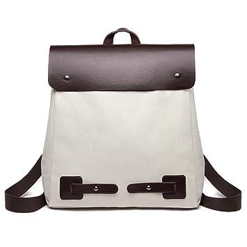 9fd87c6b0729 Amazon.com  KONFA Ladies Teen Girls Patchwork Canvas Backpack School ...