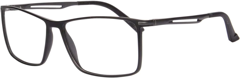 SHINU Filtros de Luz Azul Multi Atencion Progresivo Multifocal Gafas de Lectura para Hombres y Mujer-RMG25