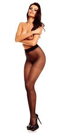 e29cf583f27 GLAMORY Satin Matt 20 Plus Size Tights-make up-14-16-(M)  Amazon.co.uk   Clothing
