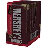 HERSHEY'S SPECIAL DARK Bar, Mildly Sweet Chocolate Candy Bar, 6.8 Ounce Bar (Pack of 12)