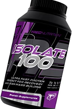 ISOLATE 100 750g - AISLAR 100 - Trec Nutrition - ISOLITE PROTEINA DE SUERO PROTEÍNA EN POLVO - Ultra proteína rápida y eficaz fuente perfecta para la ...