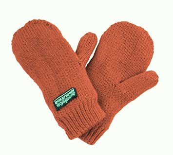 12706c595edb Amazon.com  Clips N Grips Infant Toddler Knitted Fleece Lined ...