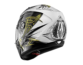 Shark Ridill Finks WKY - Casco de moto (talla L), color negro y