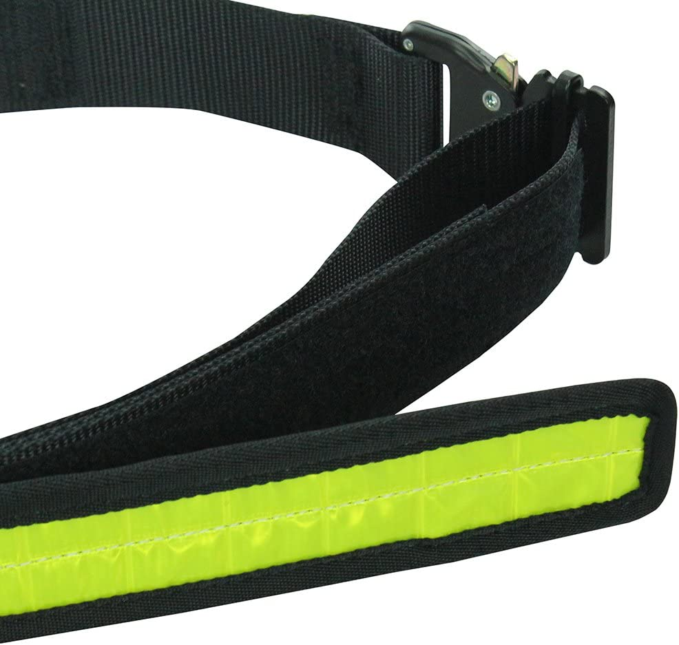 Fusion Tactical Military Police High Visibility Reflective Belt Type A Neon Yellow Large 38-43//1.75 Wide
