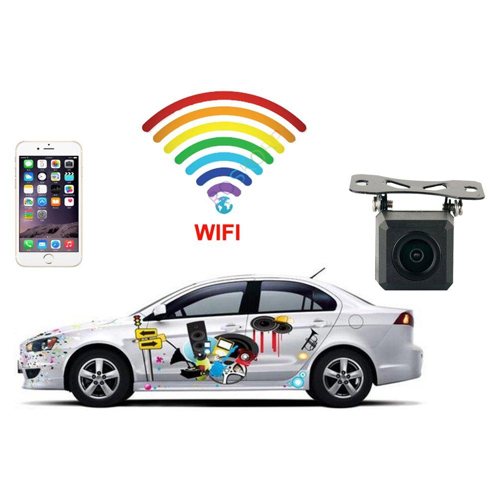 Camé ra de recul WiFi - sans Fils - Fonctionne sous Android & iOS - Aide au stationnement - ITK Technology