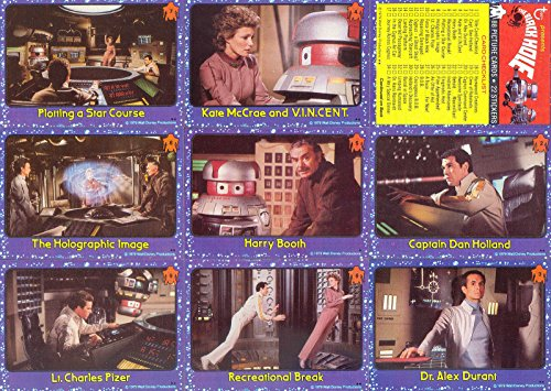 BLACK HOLE THE MOVIE 1979 TOPPS COMPLETE BASE CARD & STICKER SET OF 88 + 22