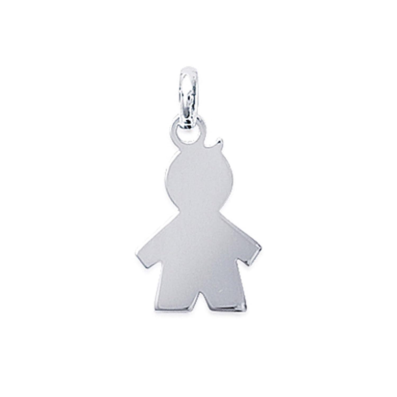 Pendentif silhouette garç on en Argent 925 - Neuf BigBangBijoux 1860600s