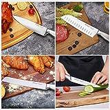 Emojoy Knife Set, 15 Pieces Kitchen Knife Set with