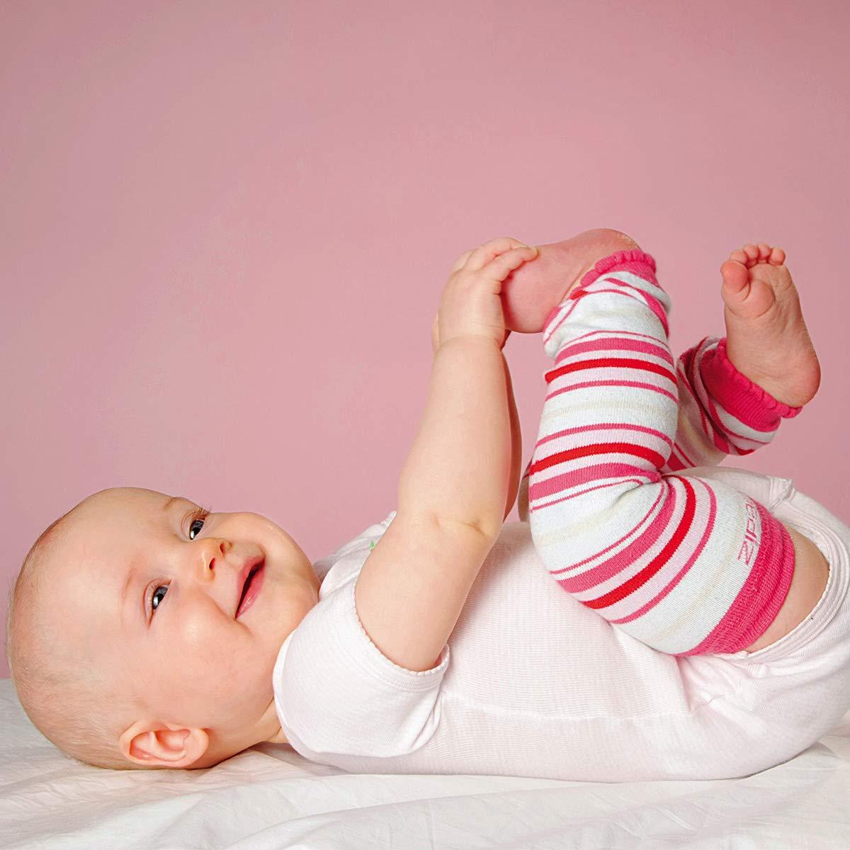 HOPPEDIZ/® Baby-Stulpen aus Bio-Baumwolle uni lindgr/ün