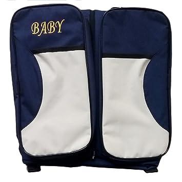 unke portátil infantil cama se pliega mochila infantil saco de dormir momia bolsa: Amazon.es: Juguetes y juegos