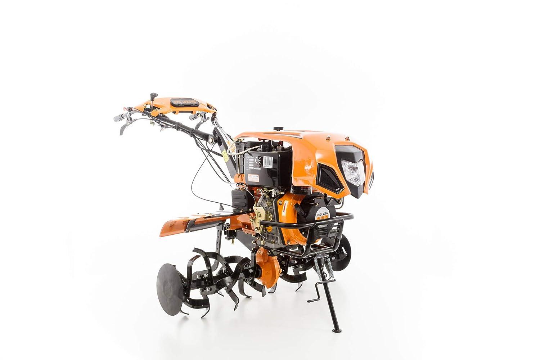 Motocultor diésel 10 CV 8 velocidades 2 AV – 1 AR ruedas ...