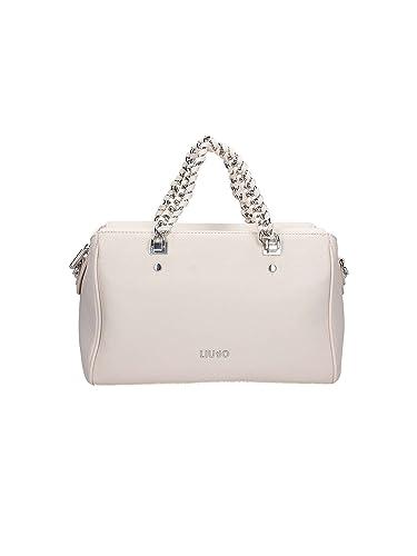 e0cee4e5d787 Liu jo Anna Chain top handle bag M True Champagne  Amazon.co.uk  Shoes    Bags