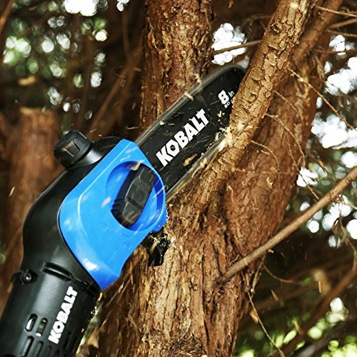 Kobalt 40-Volt Max Lithium Ion (Li-ion) 8-in Cordless Electric Pole Saw (Tool Only, Battery and Charger Not Included)