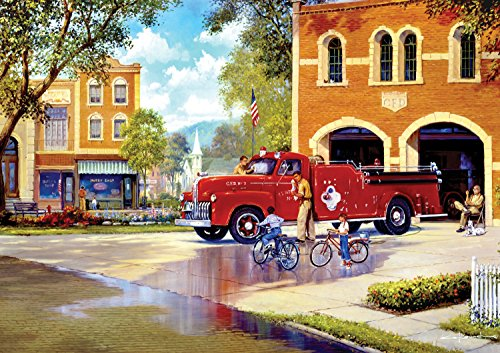 Buffalo Games - Days to Remember - Hometown Heroes - 500 Piece Jigsaw Puzzle