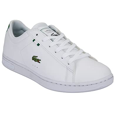 382646ffba Lacoste- Carnaby Evo HTB SPJ White green-39: Amazon.fr: Chaussures ...