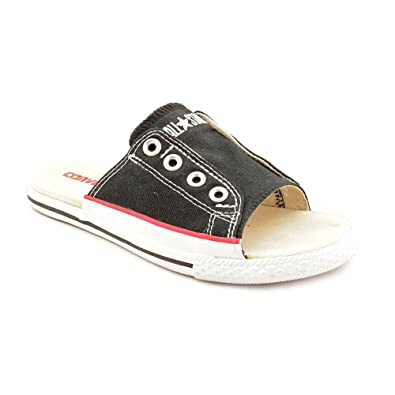 Converse CT Cut Away Womens Black Canvas Slides Sandals Shoes 5.5 UK   Amazon.co.uk  Shoes   Bags e4e555ec8