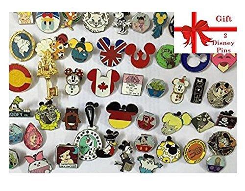 Disney Pins Trading Lot of 25 w/ No - Disney Pin Lot 25