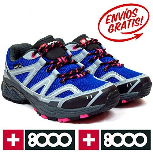 Femme tajar Tajar Femme bleu de pour W randonnée marine nbsp;Chaussures W 8000 8wnBtCq0w