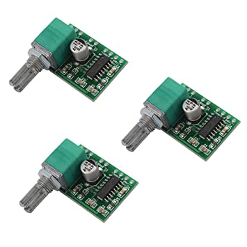 XCSOURCE® 3pcs Amplificadores estéreo PAM8403 Super Mini 5V Digital Amplificador Junta 3W + 3W DC 5V Audio Amplificador Handy Digital Power Amp módulo ...