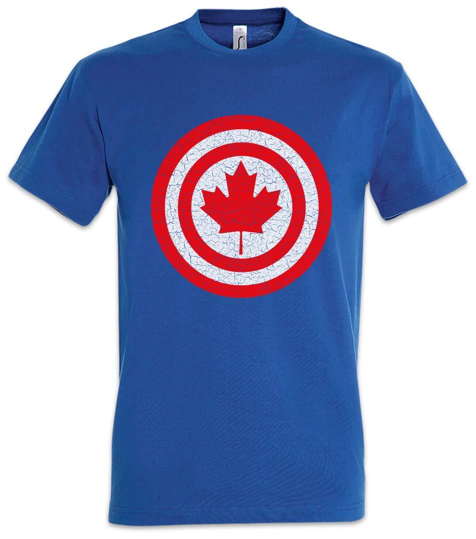 Urban Backwoods Captain Canada T Shirt 4414