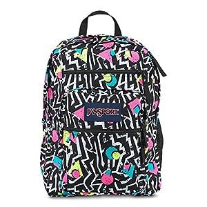 Jansport Classic BIG STUDENT BLACK/WHITE BEBOP School Backpack