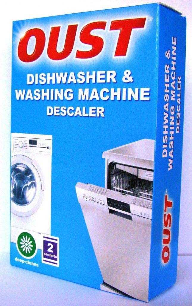 Oust Pack Of 2 Dishwasher & Washing Machine Deep Cleaning Descaler 1 Pack Of 2
