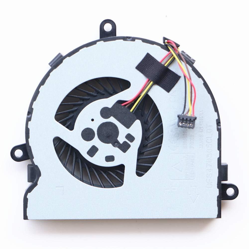 Cooler Para Hp 15-ac 15-ay 15-af 15-ba 15-bs 15-be 15-bf 15-bd 15-bw 15-bs 15-ay Series Laptop  Para Pn: 813946-001
