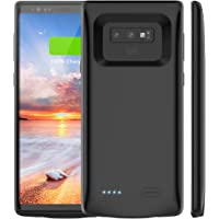 Galaxy Note 9 Battery Case, Vproof [5000mAh] Portable Charger Case Rechargeable External Charging Case Protective Cover Case for Samsung Galaxy Note9 (6.4 Inch) (Black)