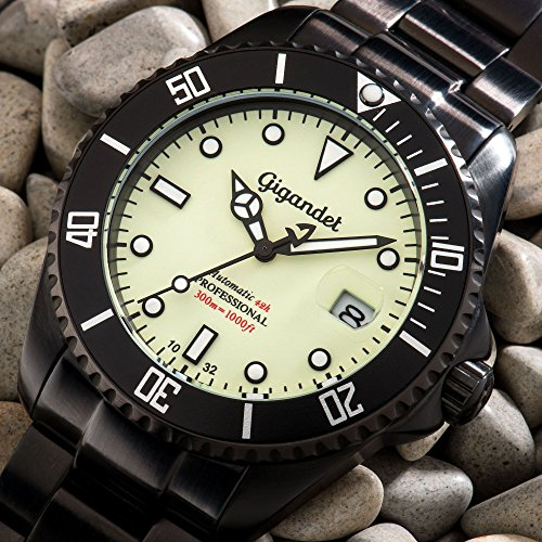 gigandet mens automatic pro diver watch sea ground analog. Black Bedroom Furniture Sets. Home Design Ideas