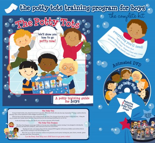 The Potty Tots Potty Training Program For Boys