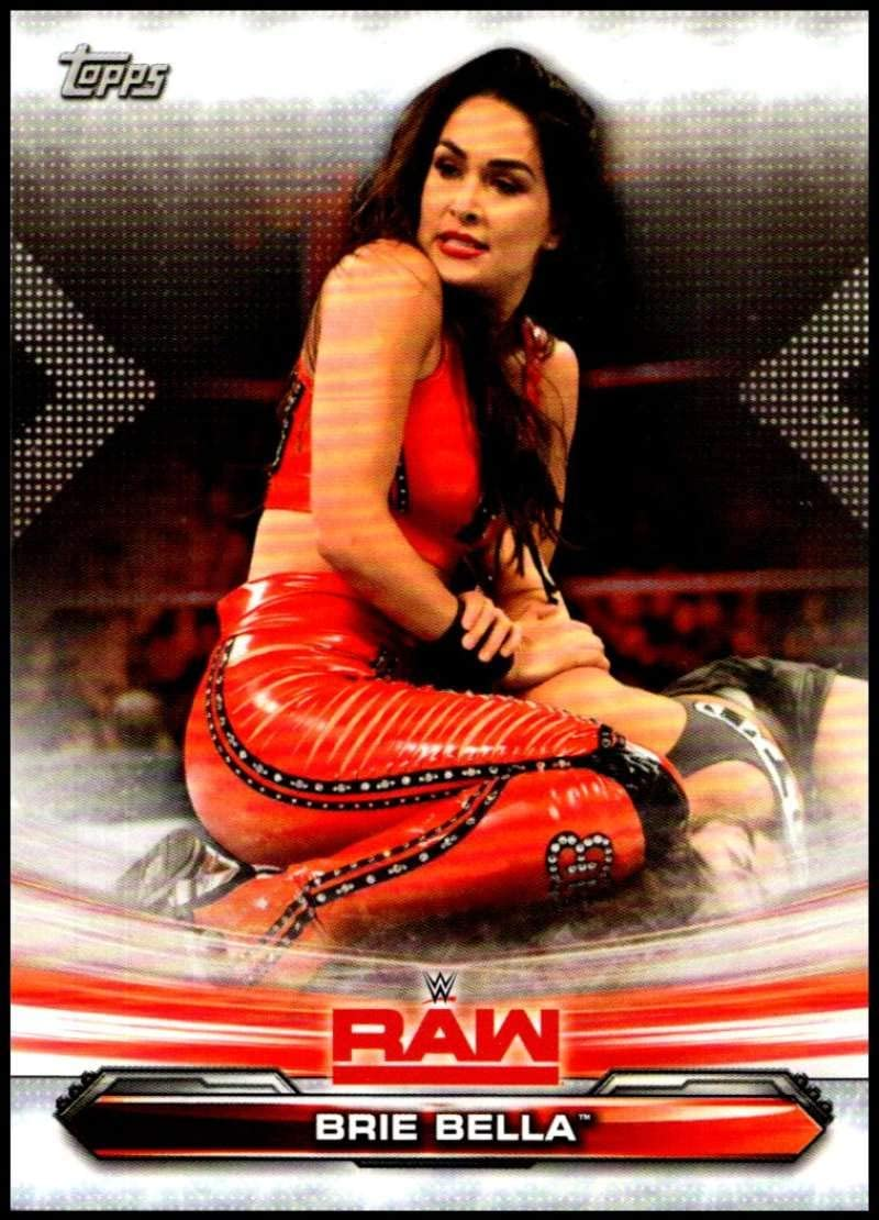 Brie Bella #43 WWE Heritage 2016 TOPPS TRADING CARD