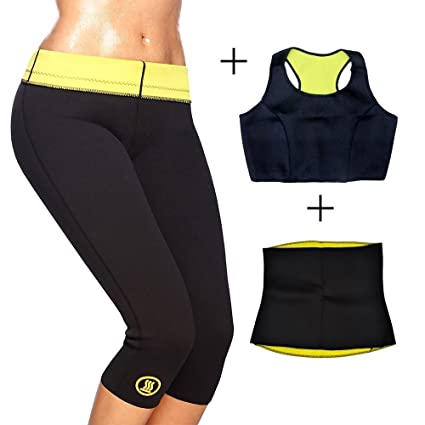 fa2316e97b7 Hot Slimming Shaper Pant + Top + Cotton Tummy Tucker Shapewear Combo SIZE-S