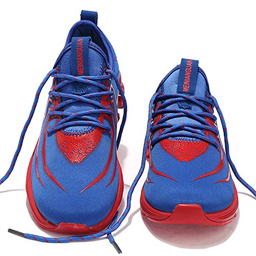 Running Shoes No spider Walking 66 Sneaker Men Town 2 Blue a7wqIr7U