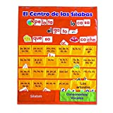 LEARNING RESOURCES SPANISH SYLLABLES PC W/ CARDS (Set of 3)