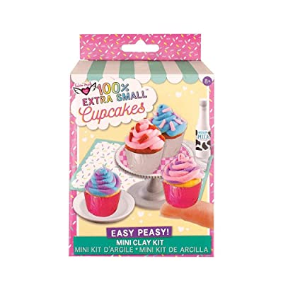 Fashion Angels Easy Peasy 'Mini Clay Kit' Cupcakes: Toys & Games