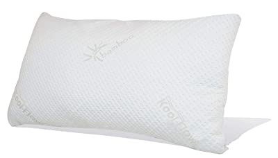 Snuggle-Pedic Original Ultra-Luxury Bamboo Shredded Memory Foam Combination Pillow