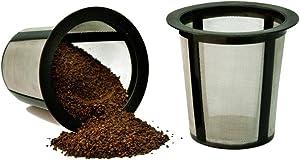 CAFÉ BREW COLLECTION RK-202-CB-12 RK202 Coffee Filter, 2 CT, black