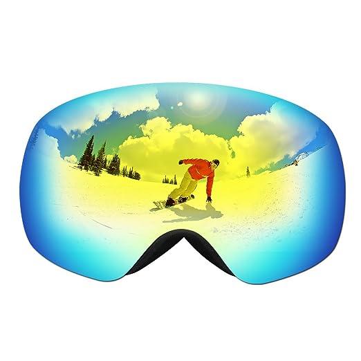 35 opinioni per Maschere da Sci OMorc Occhiali da Sci Ski Snowboard Antivento con Staccabile