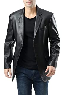 Homme Classique Sur Tr4080 Mesure ' Blazer Souple Noir S Véritable qqEOf4