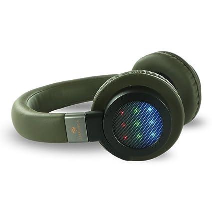 f83a02b54ee Amazon.in: Buy Zebronics Neptune Bluetooth Headphones (Black) Online ...