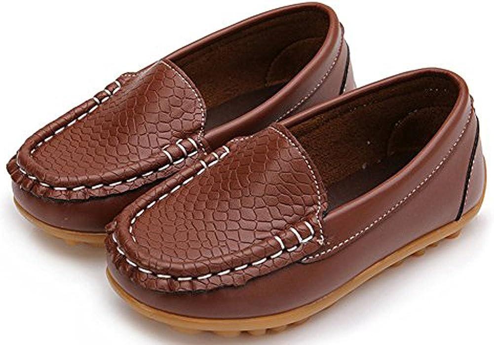 Toddler//Little Kid UBELLA Boys Girls Loafers Slip-on Dress Shoes