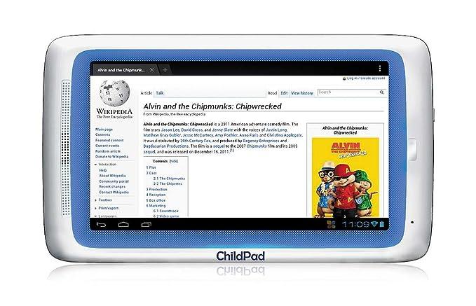 Archos ChildPad Arnova 4GB Color blanco - Tablet (Android, Pizarra, Android, Color blanco, Polímero de litio, 802.11b, 802.11g, 802.11n): Amazon.es: ...
