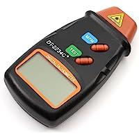 CITTATREND-Tacómetro Láser Giratorio Velocímetro Taquímetro Medidor Portátil Cuentarrevoluciones