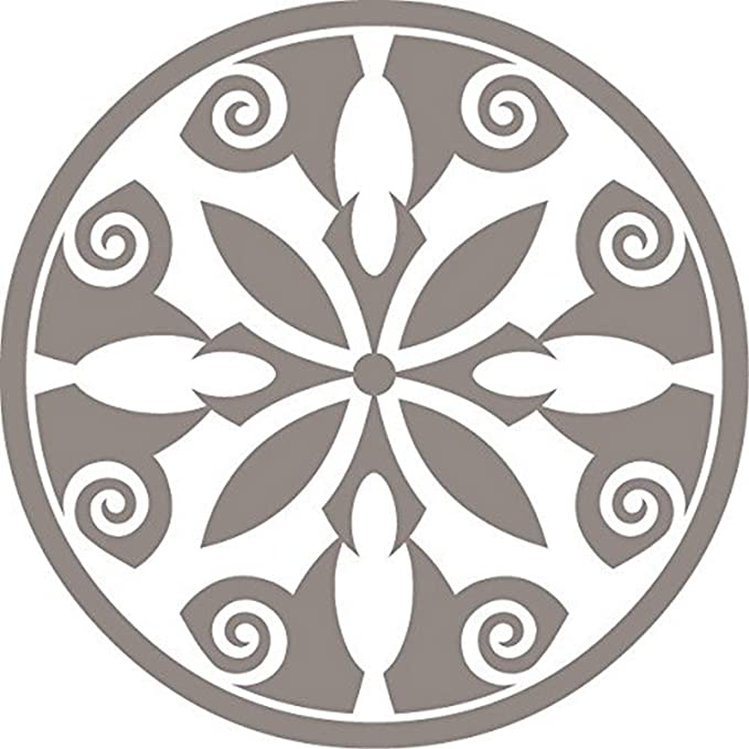 Odhams Press Breton Black Re-Tile Decal with Clear Background 6
