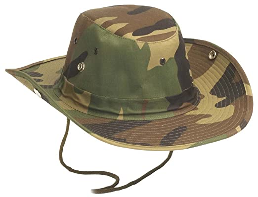 f7c6460ba7a72 US Army outdoor bush hat with buttons Boonie Hat made of durable rip stop  in many colors S-XL  Amazon.co.uk  Clothing